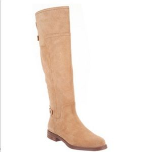 Franco Sarto Capitol Suede Tall Shaft Boots